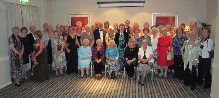 AGM York 2011 - Formal dinner group photo with Mark Longford and his wife Kate