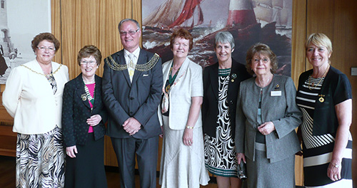 Civic Reception Plymouth 2012